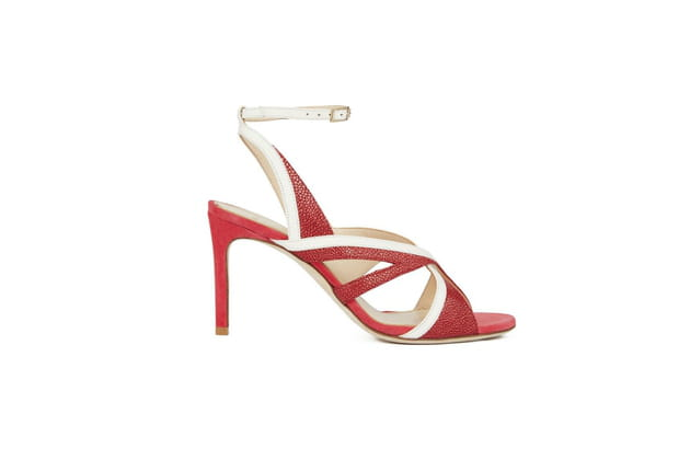 Sandales bicolores de Lanvin
