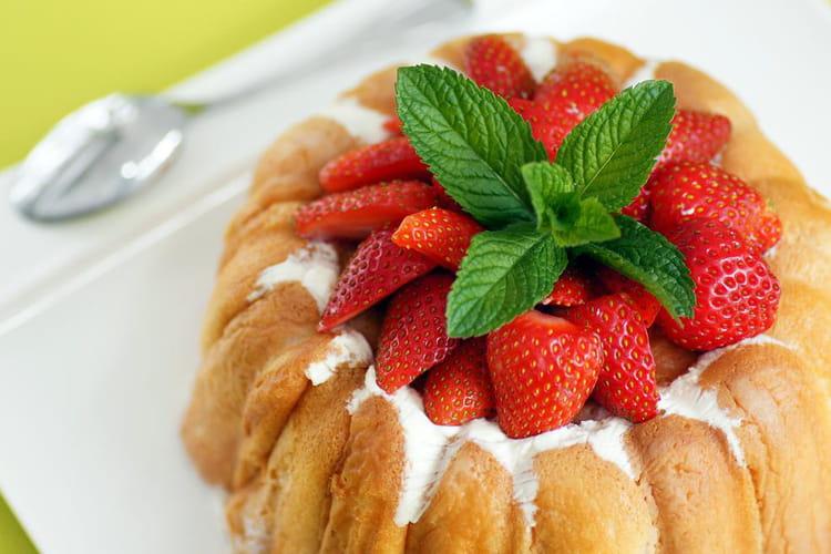 Charlotte aux fraises classique