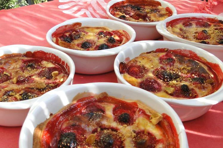 Tartelettes aux fraises comme en été au four cyclonique