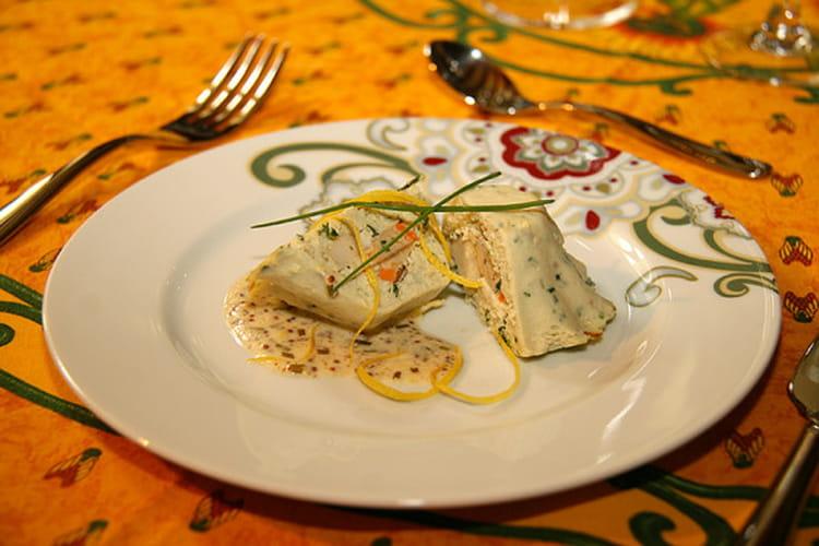 Terrine de poisson aux coquilles St-Jacques