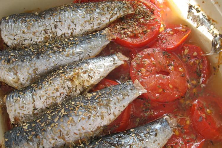 Sardines au four
