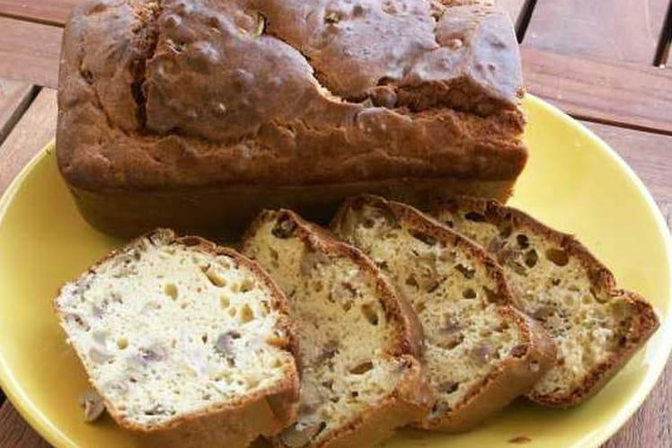 Cake jambon et olives vertes