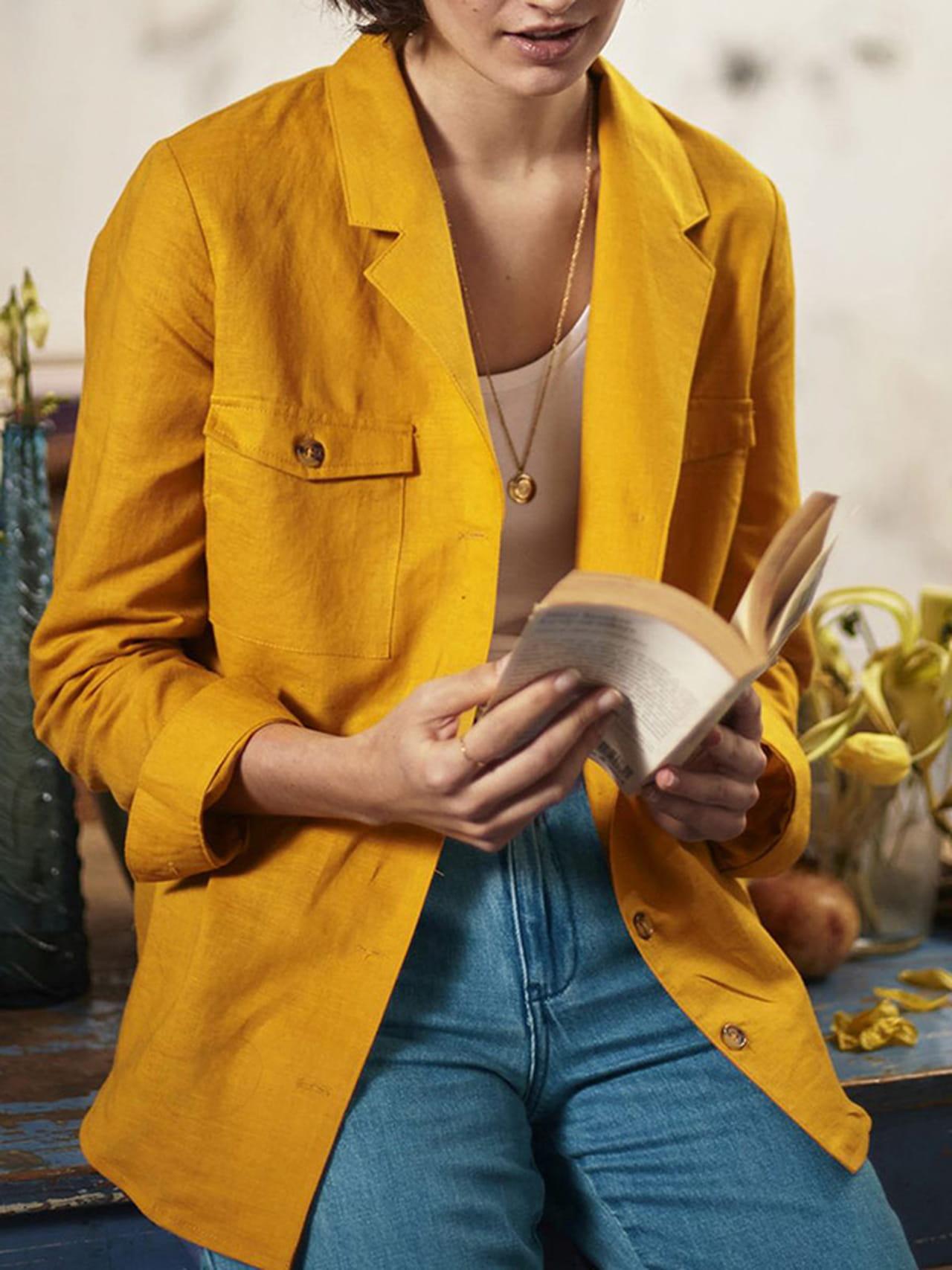 Camisa colección La Redoute la de amarilla XTOuiPkZ