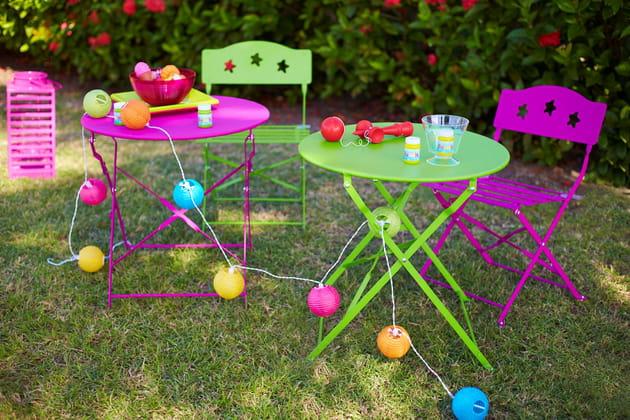 Table et chaises de jardin pliantes de GiFi
