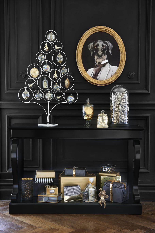 sapin poser blackstage en m tal chez maisons du monde. Black Bedroom Furniture Sets. Home Design Ideas