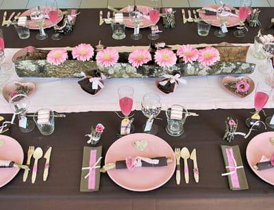table 'choco bois de rose'
