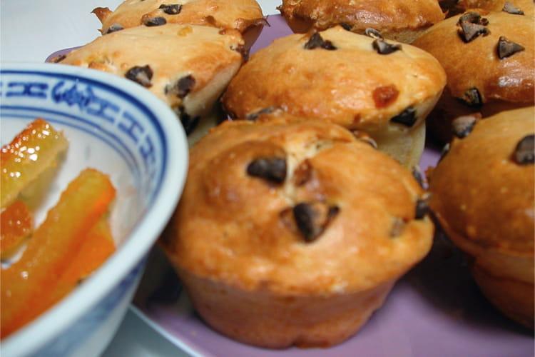 Muffins chocolat-orange