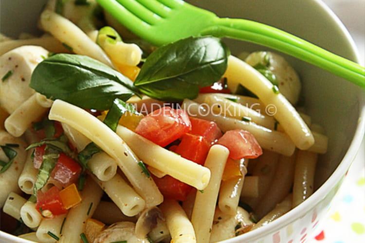 Salade de macaroni à l'italienne