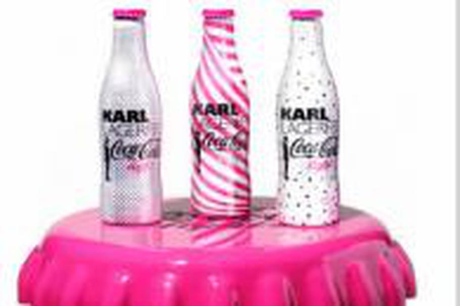 Karl Lagerfeld relooke la bouteille de Coca-Cola light