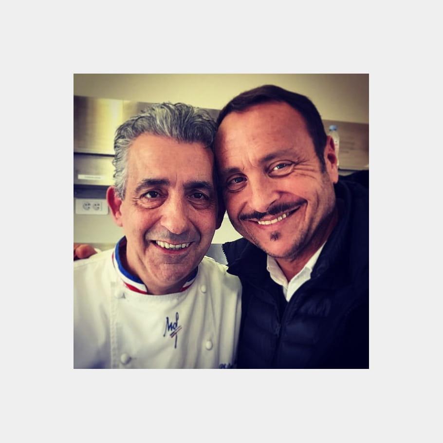 Vincent Ferniot met Philippe Urraca en Boco