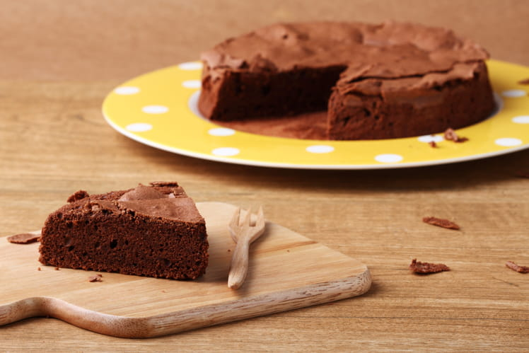 Fondant au chocolat et beurre salé