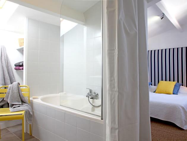 De la chambre à la salle de bains