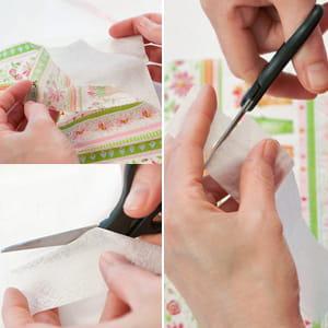 découper le papier