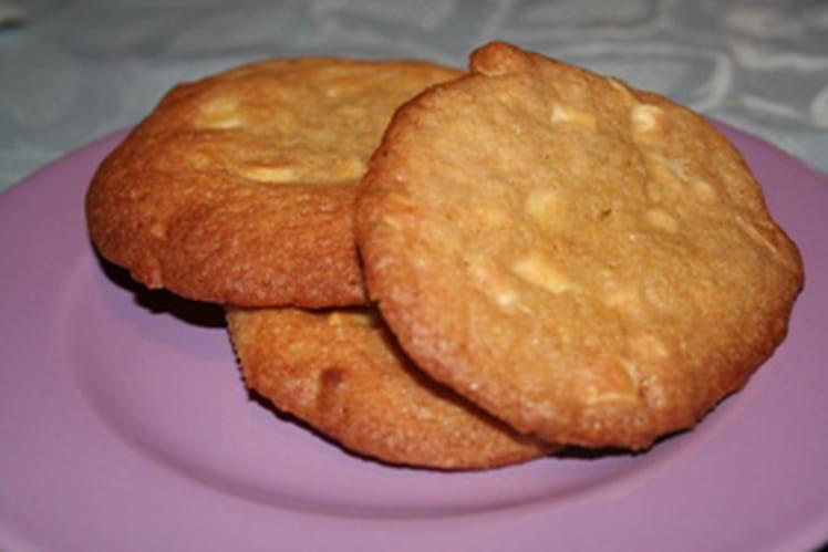 Cookies fève tonka et chocolat blanc