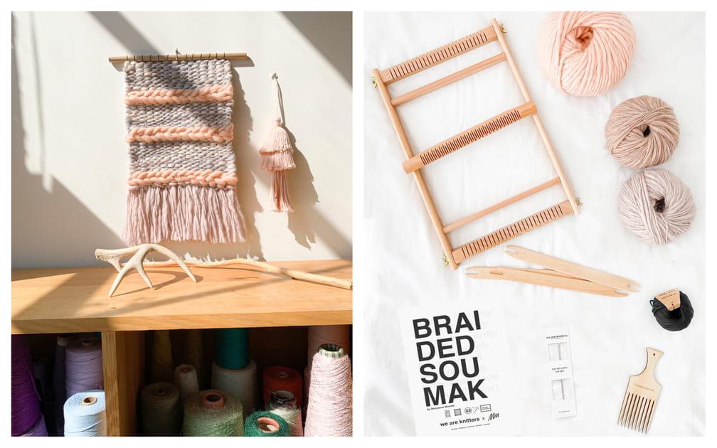 Kit de weaving Braided Soumak We are knitters