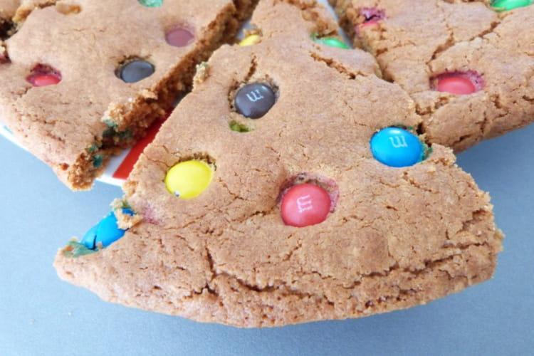 Cookie géant m&ms