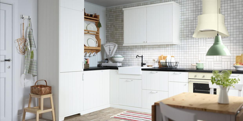 hittarp cuisine de charme par ikea. Black Bedroom Furniture Sets. Home Design Ideas