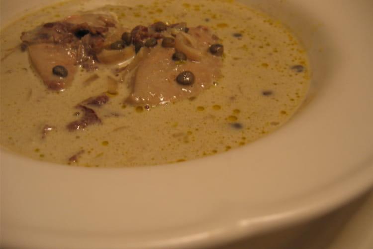 Crème de lentilles au foie gras