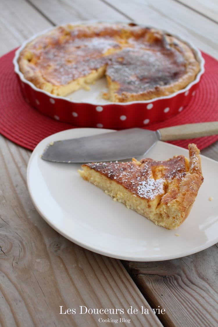 recette de tarte aux petits suisses et abricots la recette facile. Black Bedroom Furniture Sets. Home Design Ideas