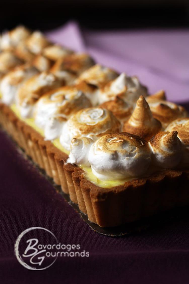 Recette de tarte au citron meringu e fa on pierre herm - Tarte au citron meringuee herve cuisine ...