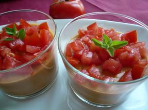 mousse légère à la tomate