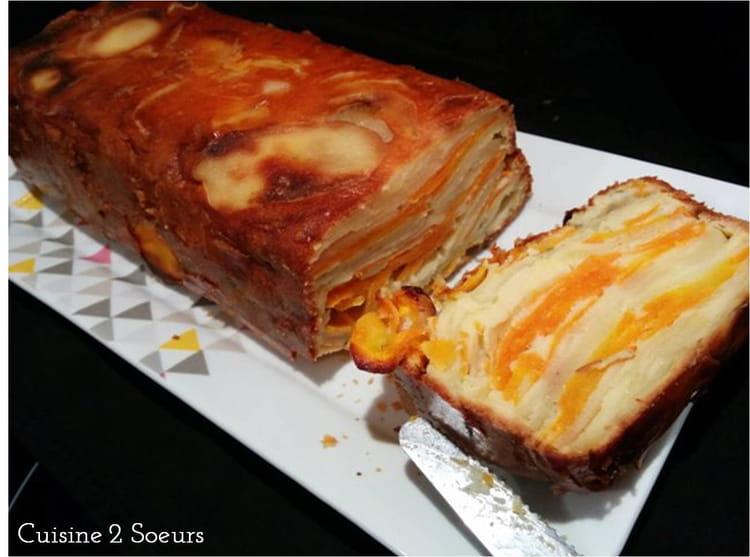 recette de gâteau invisible carottes et pommes de terre