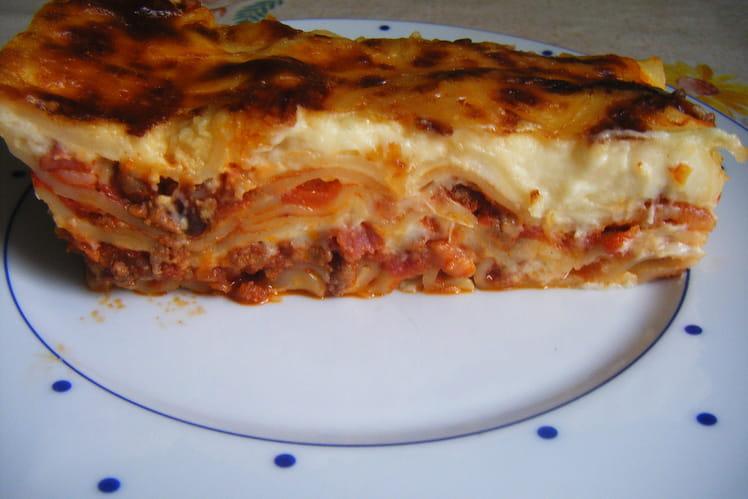 Lasagnes au boeuf épicé