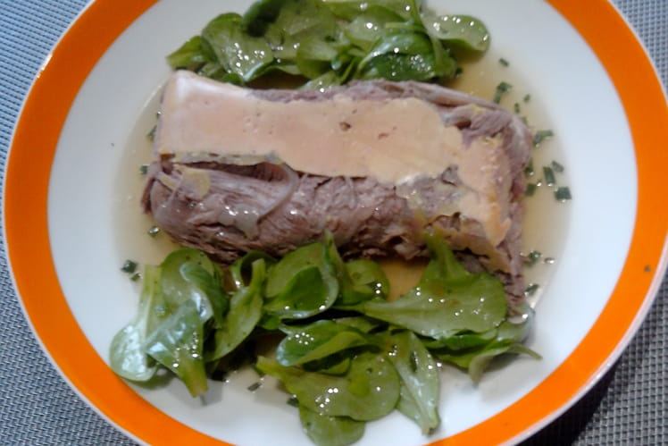 Foie gras au paleron