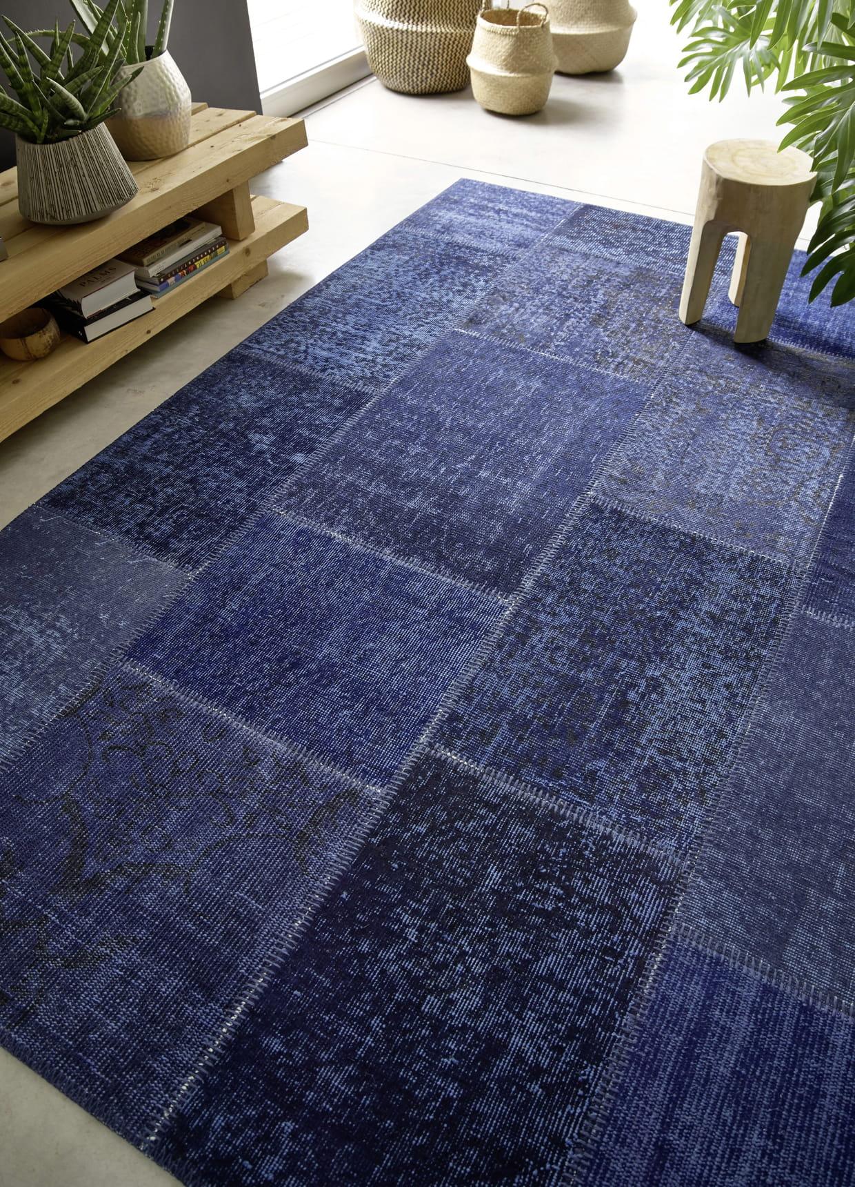 tapis patchwork par saint maclou. Black Bedroom Furniture Sets. Home Design Ideas