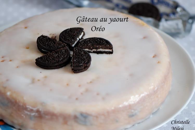 Gâteau au yaourt Oréo