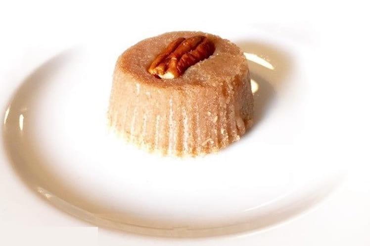 Mini fondants à la crème de marrons