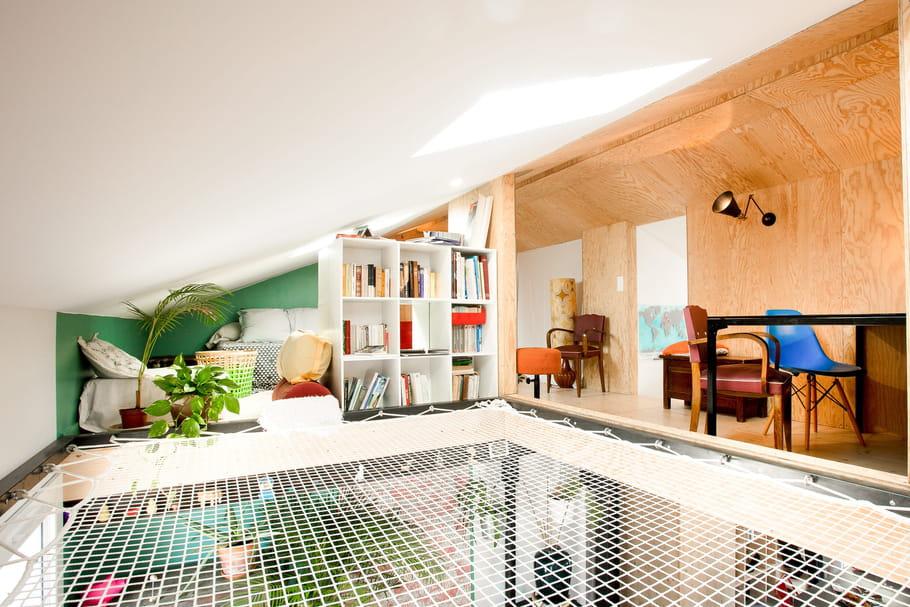 Le filet d'habitation fait le lien entre les espaces de vie