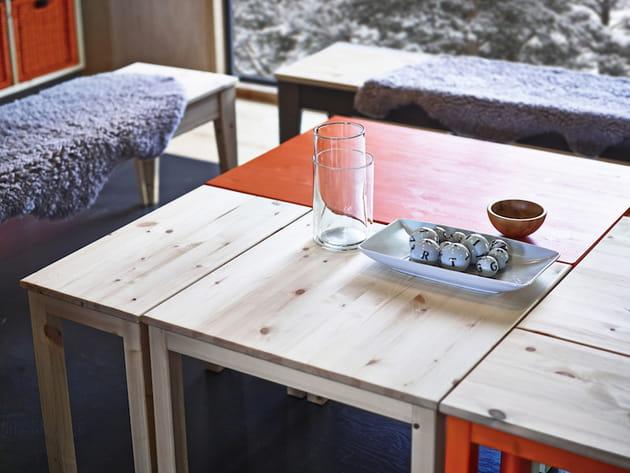 Table basse IKEA Nornas