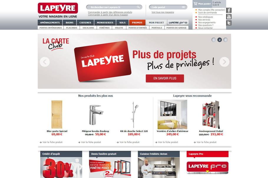 Acheter chez Lapeyre