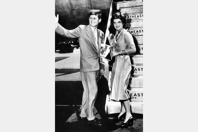 Jackie Kennedy en robe fluide
