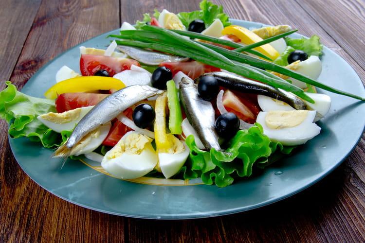 Salade niçoise authentique