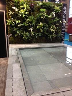 Coups de coeur d tente au salon piscine bien tre for Piscine fond mobile prix