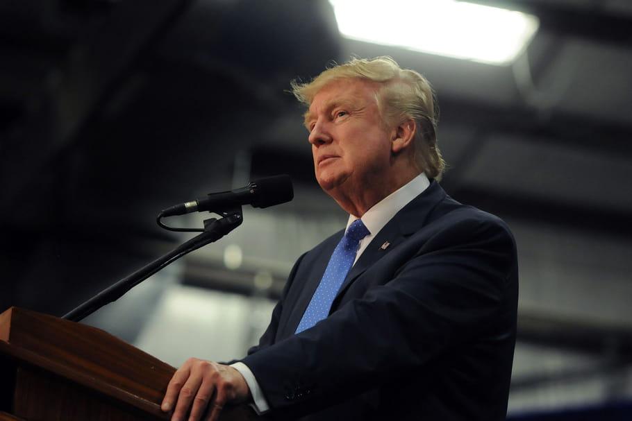 Donald Trump, élu président des Etats-Unis
