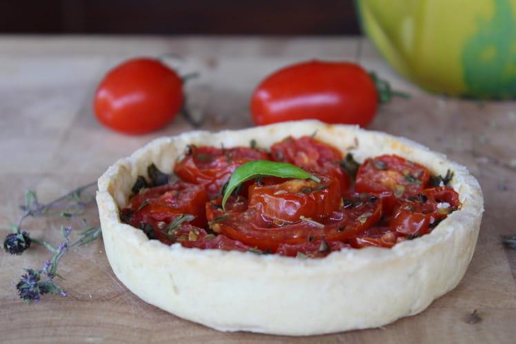 Tartelettes aux tomates et pesto