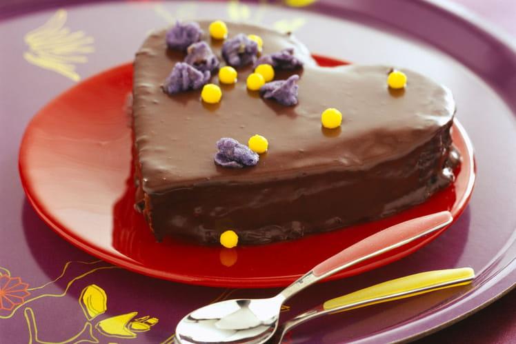 Gateau Coeur Tendre Au Chocolat
