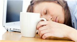l'effet 'réveil' du café n'est que temporaire...