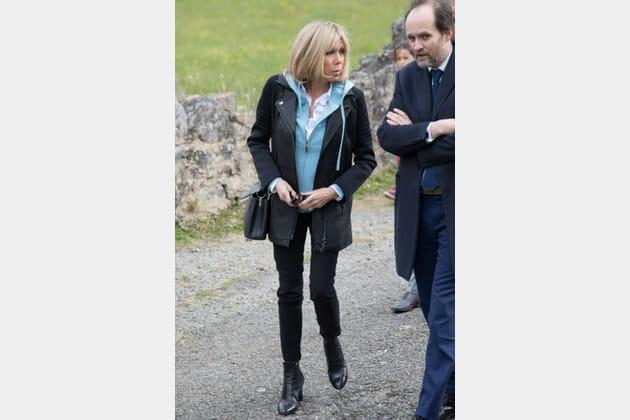 Brigitte Macron le 28avril 2017