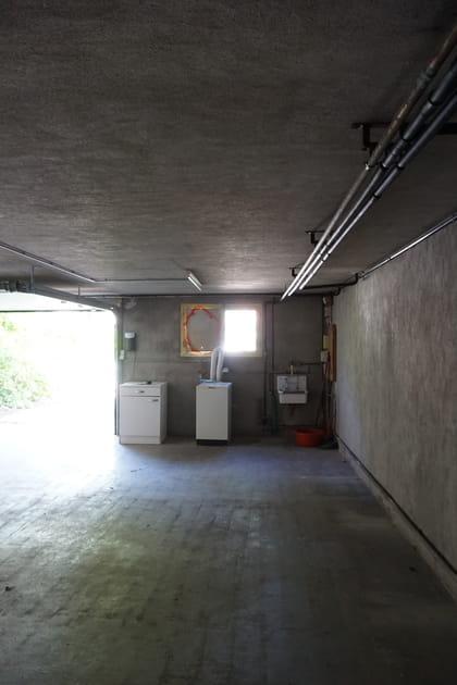 Avant: un garage non aménagé