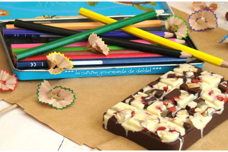 Tablette de chocolat façon Nestlé Atelier