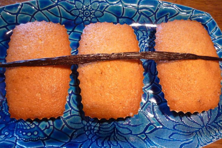 Minicakes à la vanille