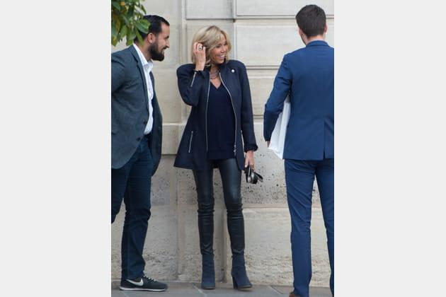 Brigitte Macron le 12octobre 2017