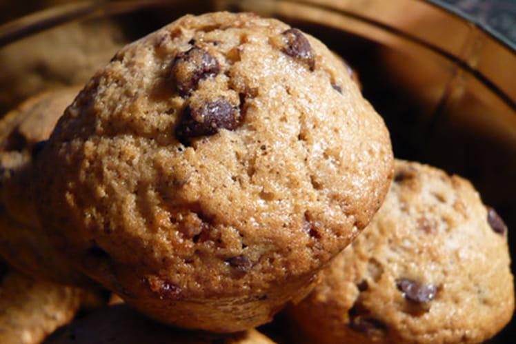 Muffins épicés à la nougatine et au chocolat