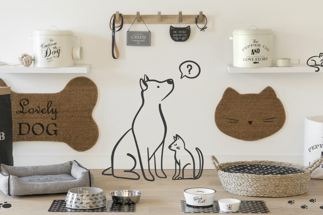 les marques d co aux petits soins pour les animaux. Black Bedroom Furniture Sets. Home Design Ideas