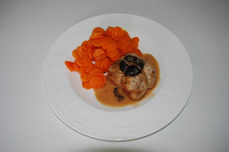 Paupiettes de poulet à la saucisse de Morteau