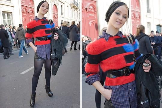 Fashion week : les street looks des défilés parisiens PAP automne-hiver 2011-2012 50